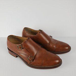 Cole Haan Madison Double Monk Strap Cap Toe Shoe 8